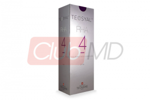 TEOSYAL® RHA4 23mg/ml, 3mg/ml 2-1ml prefilled syringes